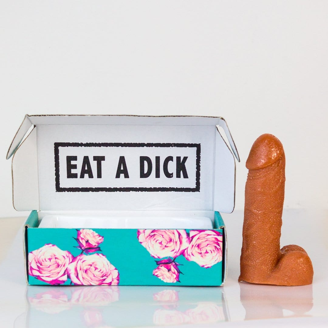 Eat A Dick: Dick Candy In A Box - - Dick in a Box - Yellow Octopus