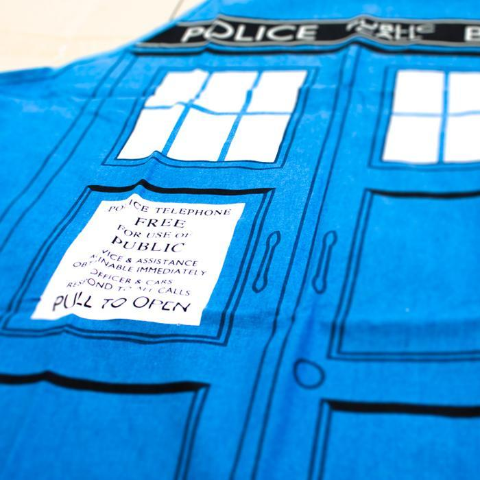 Doctor Who TARDIS Apron - - Doctor Who - Yellow Octopus
