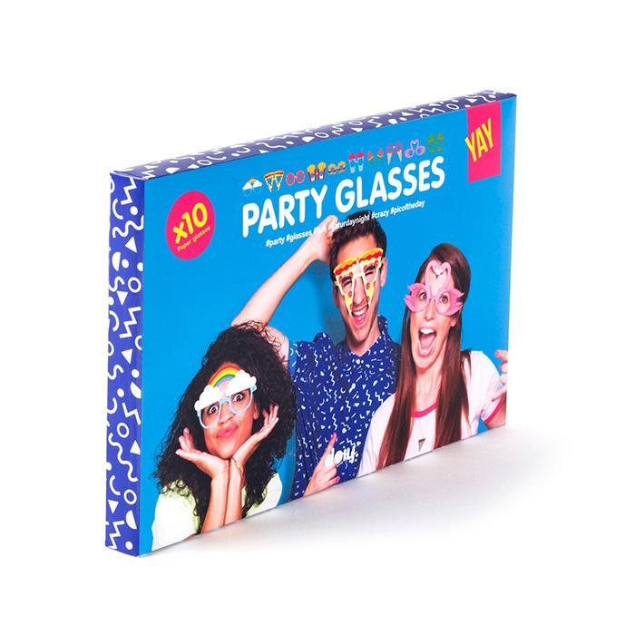 Photobooth Party Glasses - - Doiy - Yellow Octopus