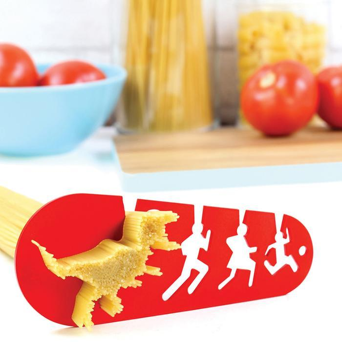 T-Rex Chasing A Family Pasta Measurer - - Doiy - Yellow Octopus