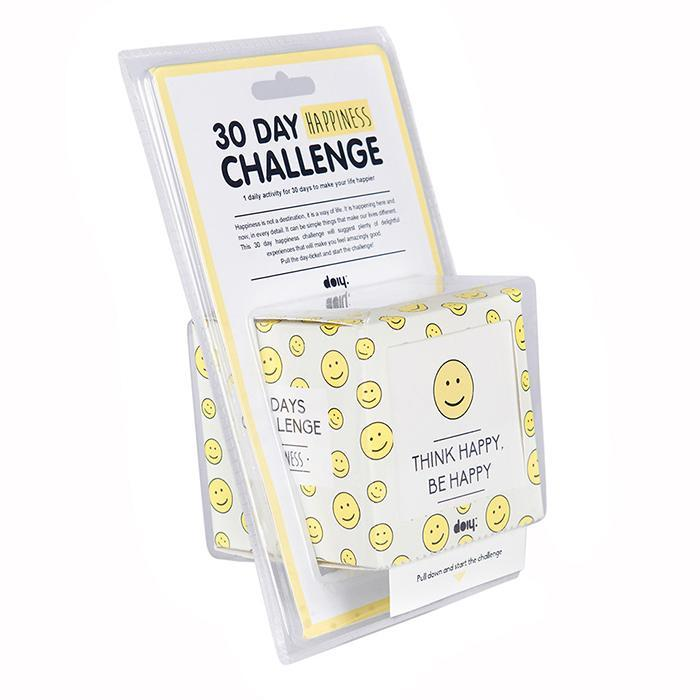 The 30 Day Happiness Challenge - - Doiy - Yellow Octopus