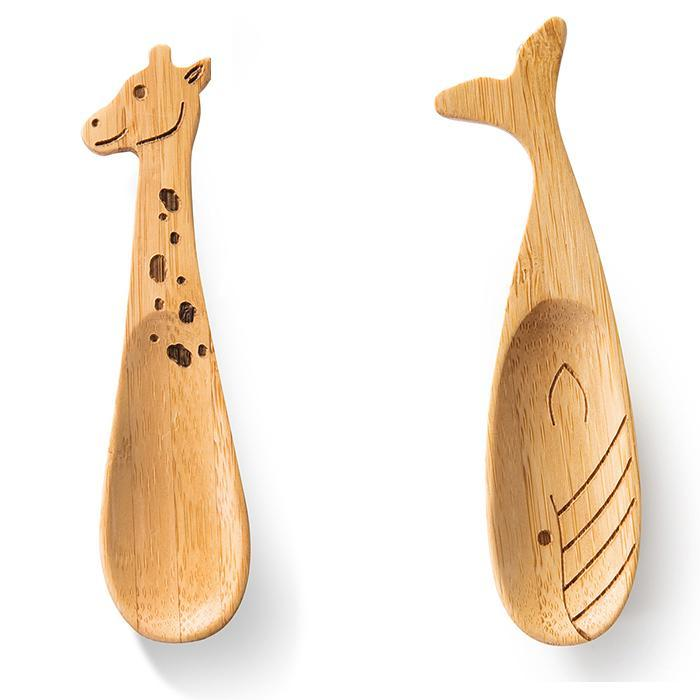 Donkey Products Kids Bamboo Spoon Animals
