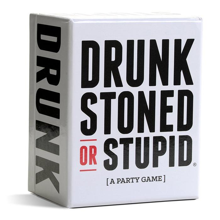 Drunk Stoned or Stupid - The Offensive New Party Game - - Drunk Stoned Stupid - Yellow Octopus