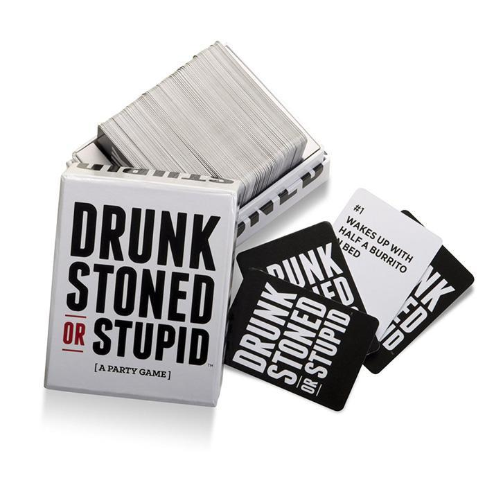 Drunk Stoned Stupid Drunk Stoned or Stupid - The Offensive New Party Game