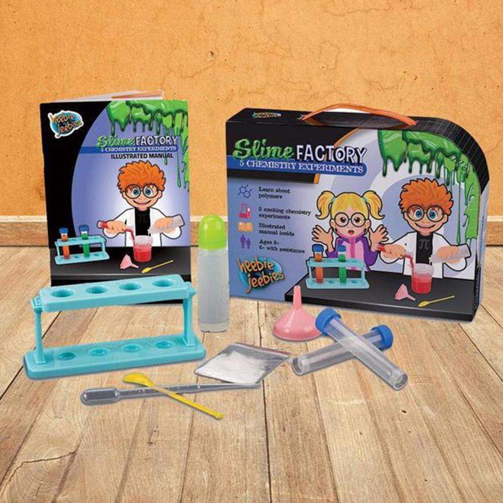 Kids Slime Factory Science Experiments Kit