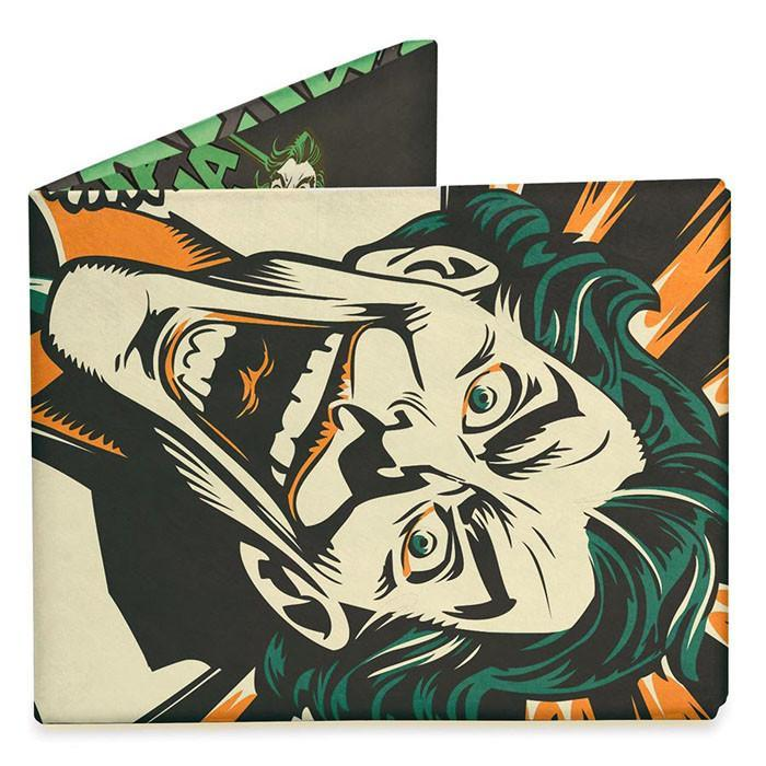 Dynomighty Mighty Wallets - Joker's Last Laugh - DYNOMIGHTY - Yellow Octopus