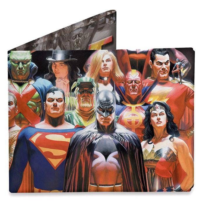 DYNOMIGHTY Dynomighty Mighty Wallets Justice League