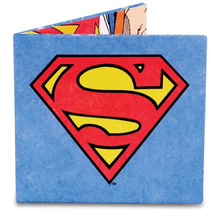 Dynomighty Mighty Wallets - Superman - DYNOMIGHTY - Yellow Octopus