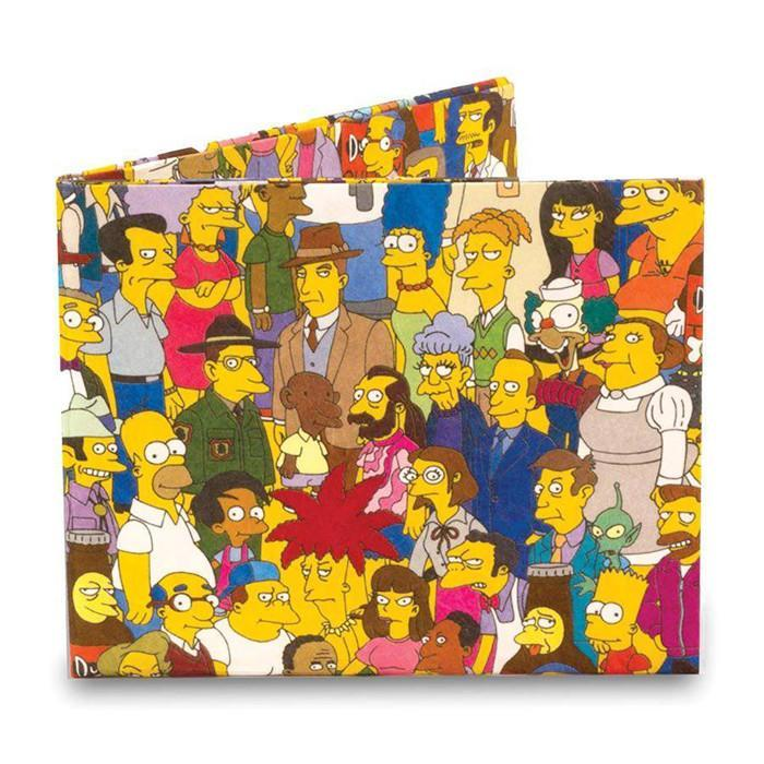 DYNOMIGHTY Dynomighty Mighty Wallets The Simpsons