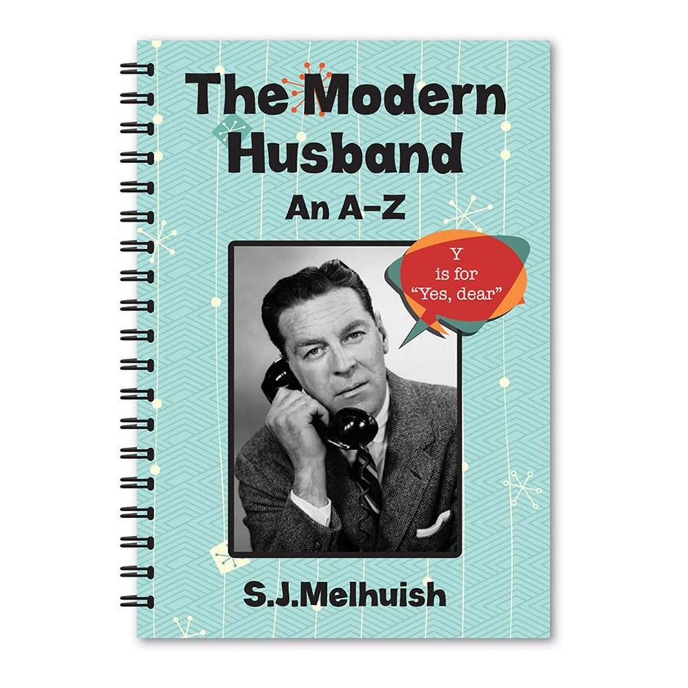 A-Z Guides to Married Life: Husband & Wife - The Modern Husband - Lagoon - Yellow Octopus