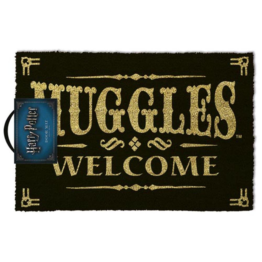 Harry Potter Muggles Welcome Door Mat