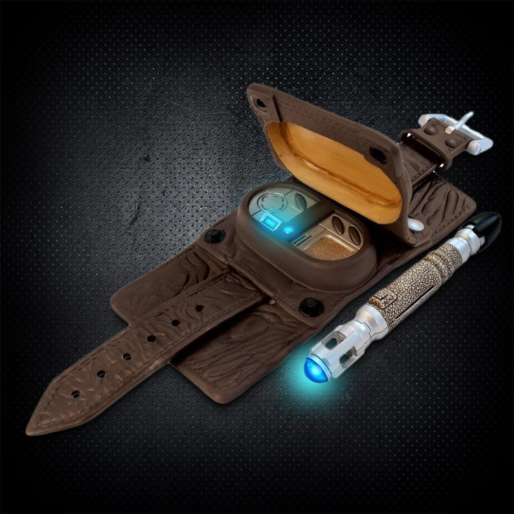 Doctor Who Light-up Sonic Screwdriver & Vortex Manipulator
