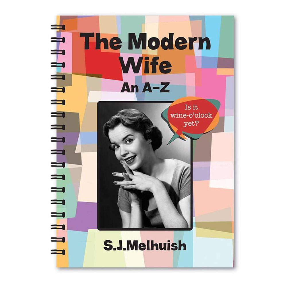 A-Z Guides to Married Life: Husband & Wife - The Modern Wife - Lagoon - Yellow Octopus