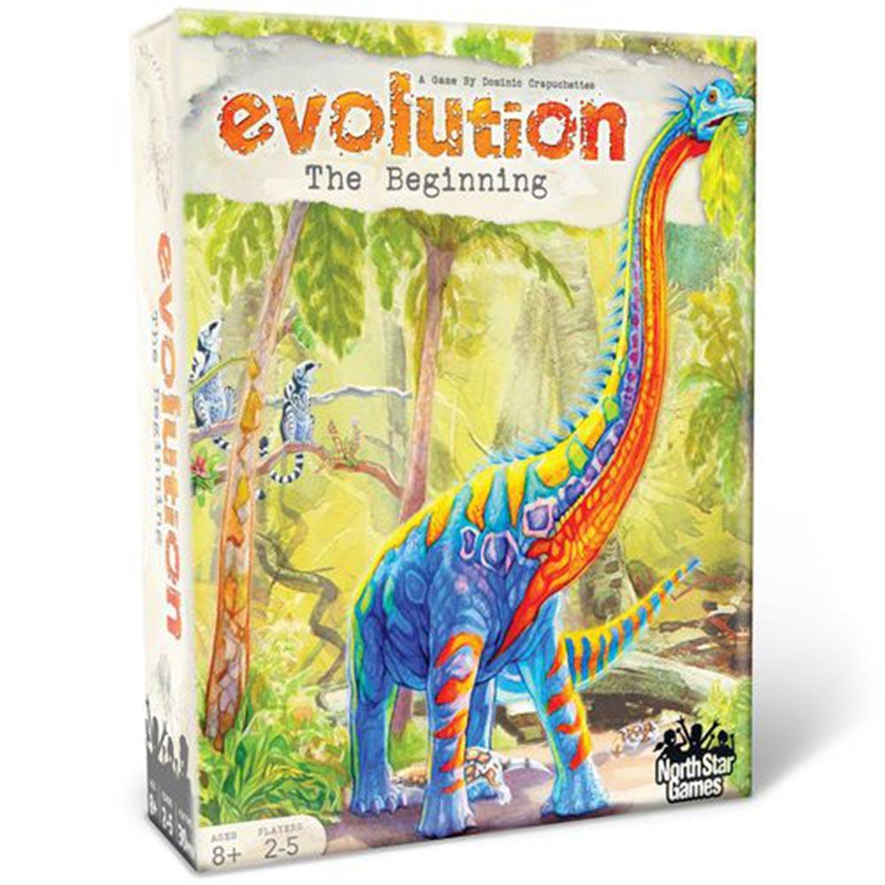 Evolution: The Beginning Family Strategy Card Game - - North Star Games - Yellow Octopus