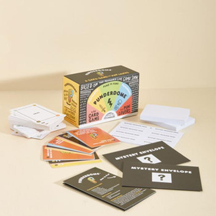 Punderdome - A Card Game For Puns - - Firestone - Yellow Octopus