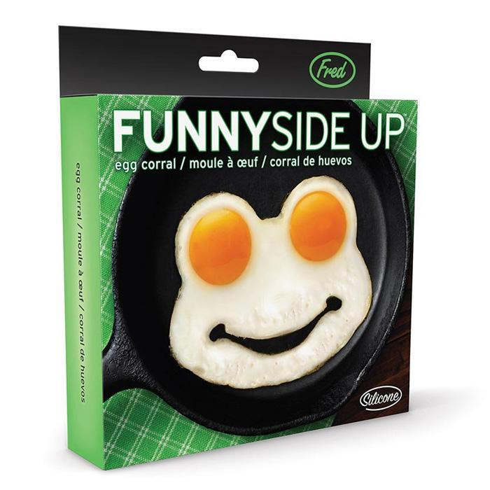 Frog Egg Shaper Funny Side Up | by Fred - - Fred & Friends - Yellow Octopus