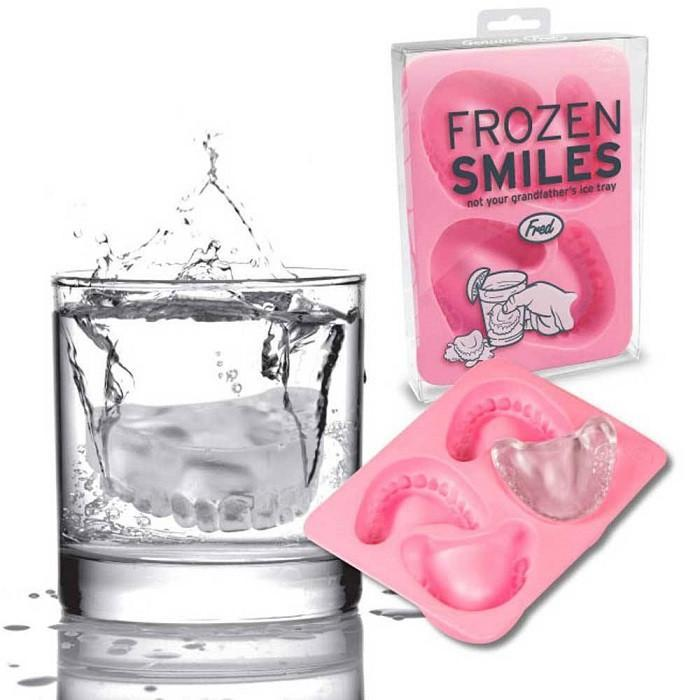 Frozen Smiles Ice Tray By Fred - - Fred & Friends - Yellow Octopus