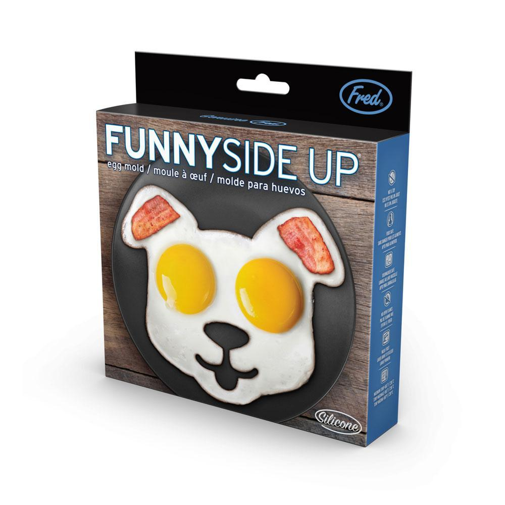 Fred & Friends Funny Side Up Silicone Dog Egg Mold