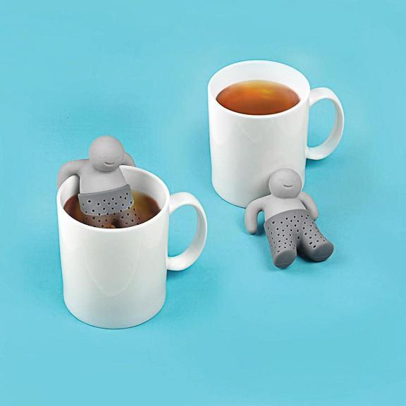 Fred & Friends Mr Tea Strainer & Infuser | by Fred