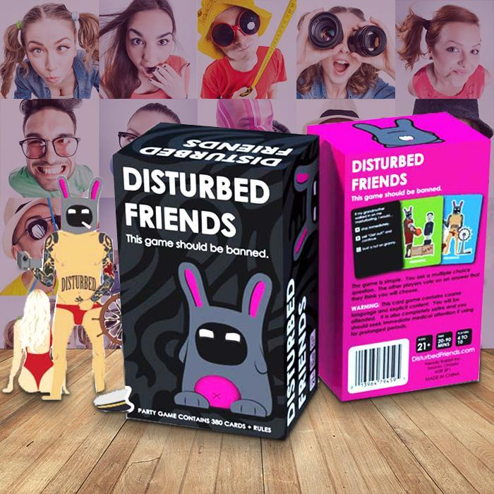 Disturbed Friends - The Game That Should Be Banned - - Friendly Rabbit Inc - Yellow Octopus