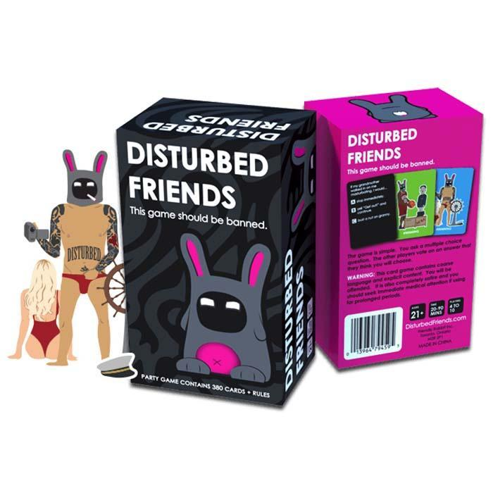 Friendly Rabbit Inc Disturbed Friends - The Game That Should Be Banned
