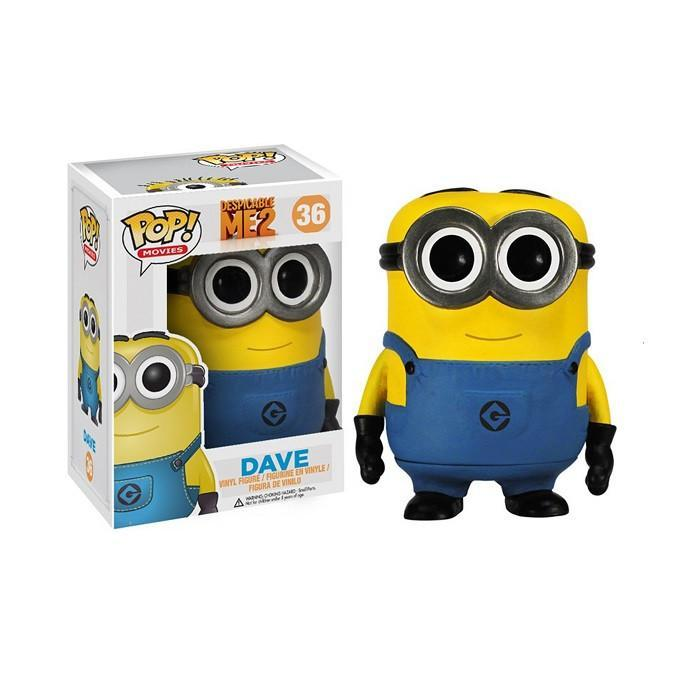 Despicable Me 2 Dave Pop! Vinyl Figure - - Funko - Yellow Octopus