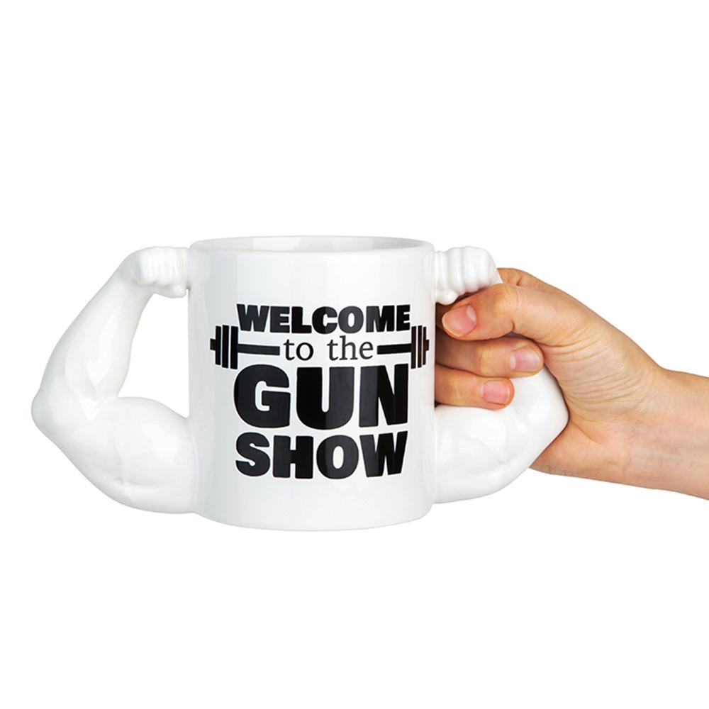 Welcome to the Gun Show Novelty Mug - - Big Mouth Inc - Yellow Octopus