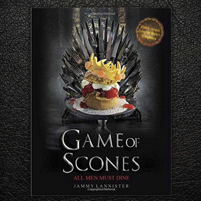 Game Of Scones Cook Book - - Game of Thrones - Yellow Octopus