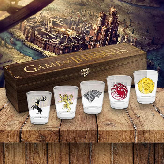 Game of Thrones Game of Thrones Shot Glasses Box Set