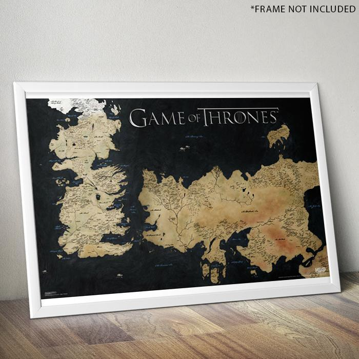 Game of Thrones Game of Thrones Westeros Map Poster 61 x 91cm