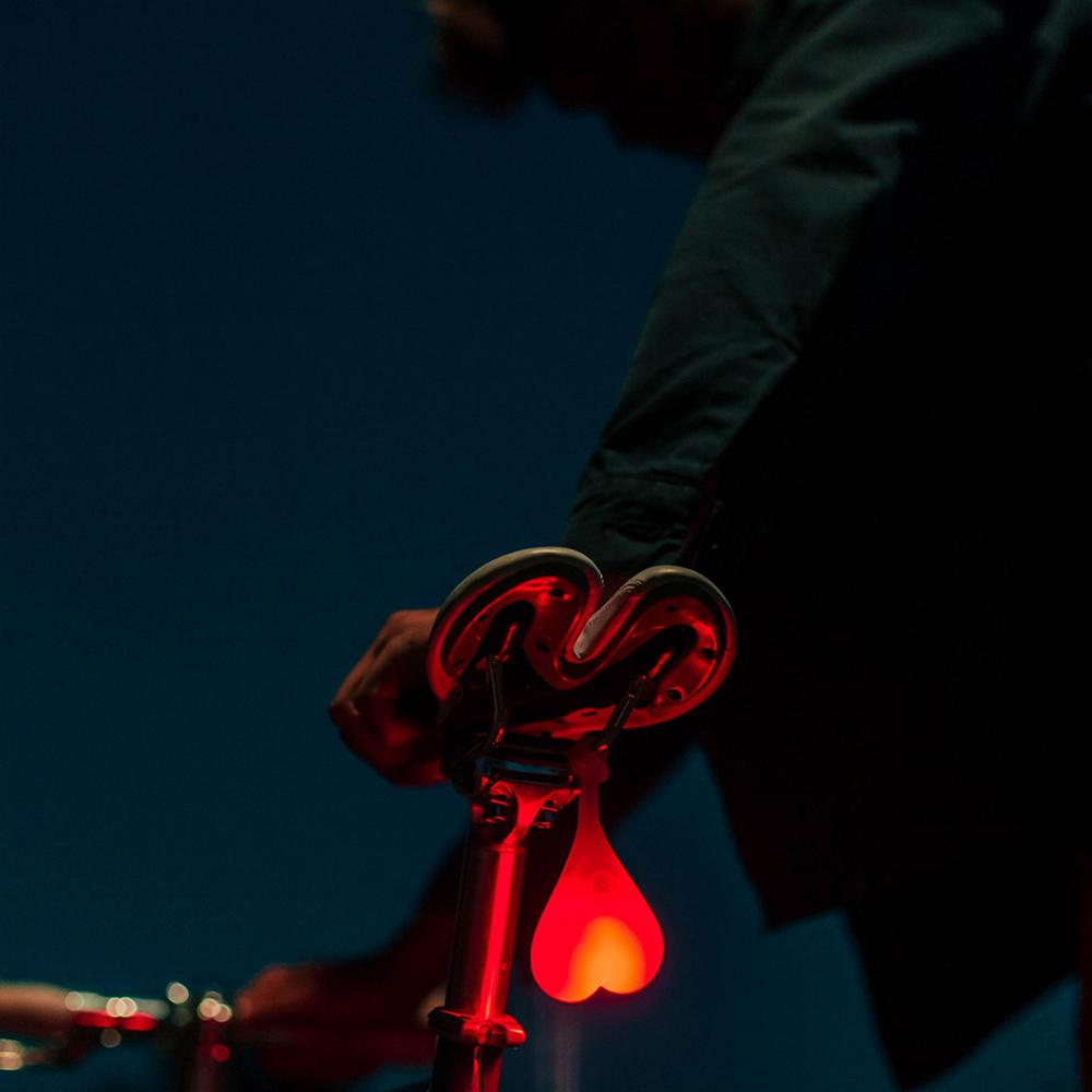 Bike Balls: The Overconfident LED Rear Bicycle Light - - Bike Balls - Yellow Octopus
