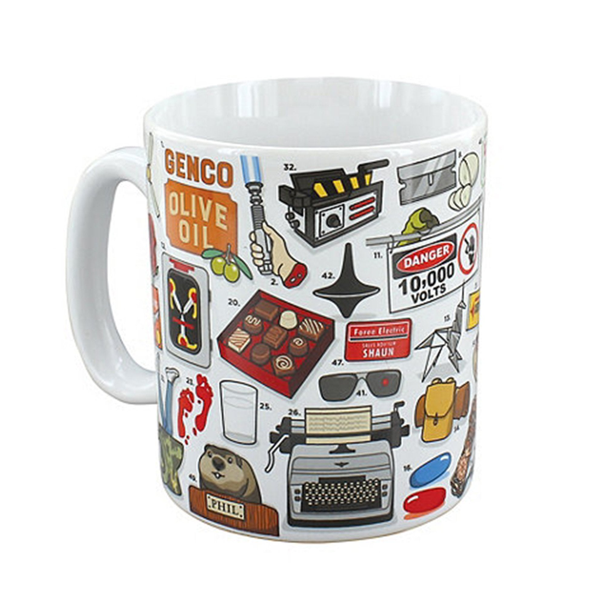 Ginger Fox The Ultimate Movie Buff Quiz Mug