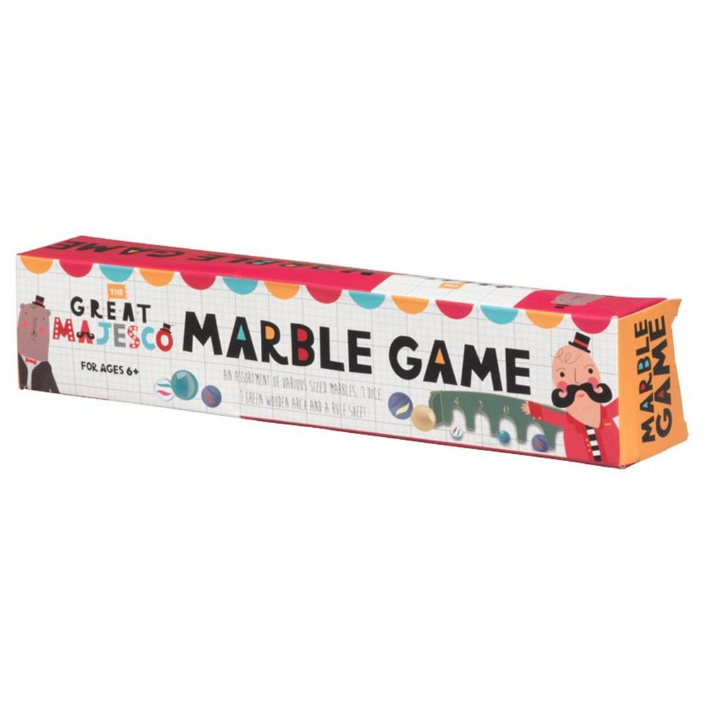 The Great Majesco Classic Marble Game - - Robert Frederick - Yellow Octopus