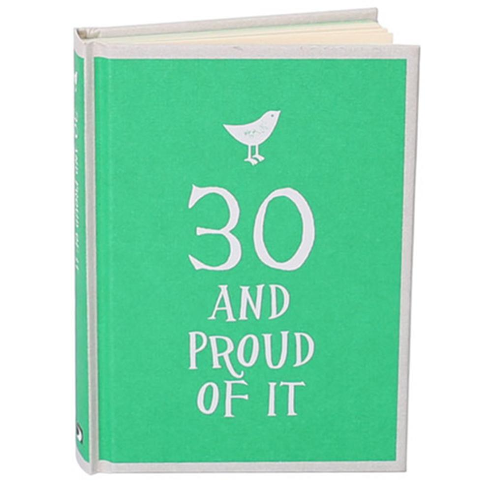30 & Proud of it Gift Book