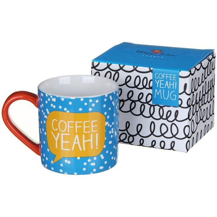 Coffee Yeah! Mug | Happy Jackson - - Happy Jackson - Yellow Octopus