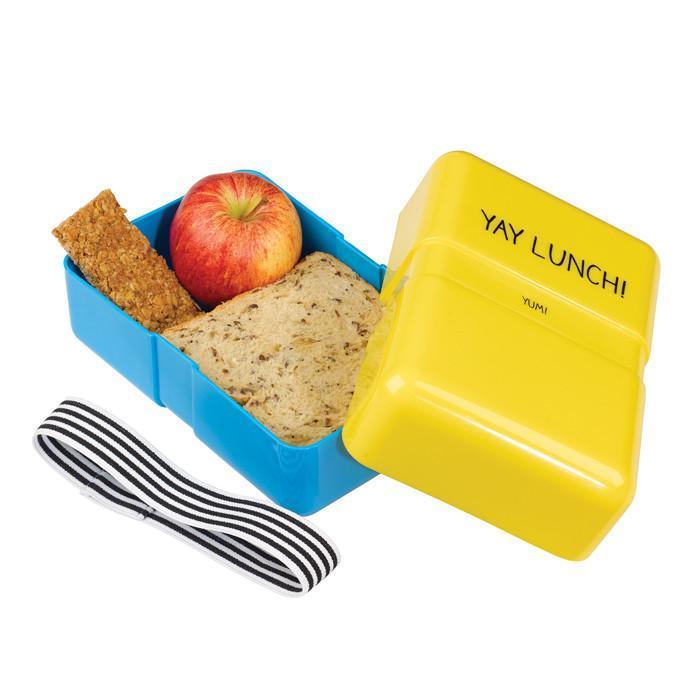 Yay Lunch! Lunch Box | Happy Jackson - - Happy Jackson - Yellow Octopus