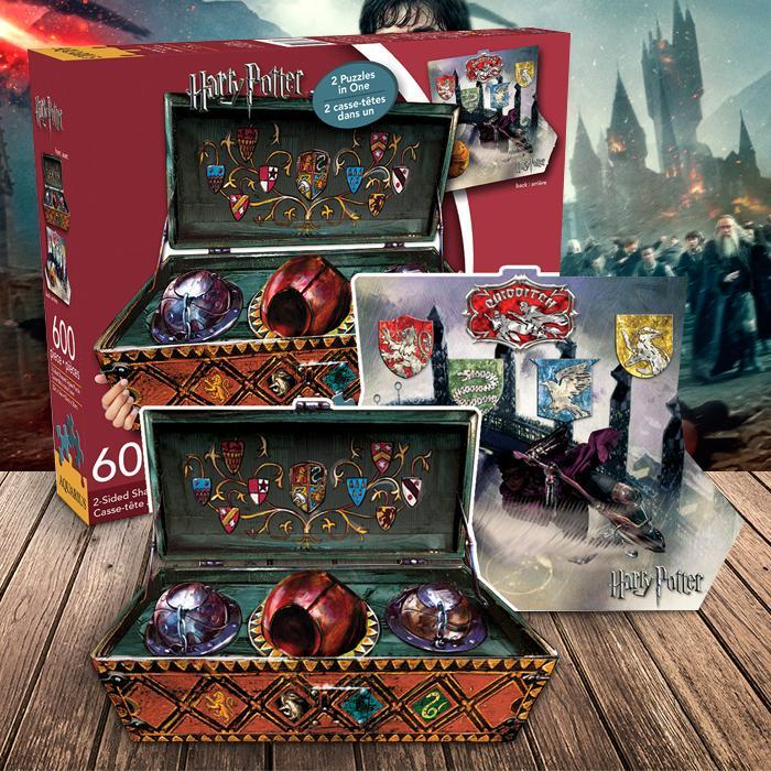 Harry Potter Harry Potter 600 Piece Two-Sided Puzzle