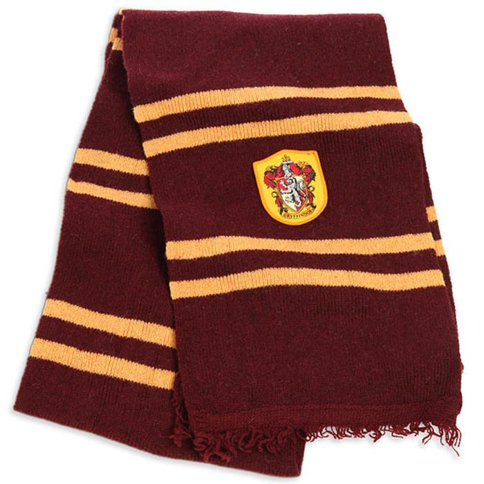 Harry Potter Gryffindor House Scarf - - Harry Potter - Yellow Octopus