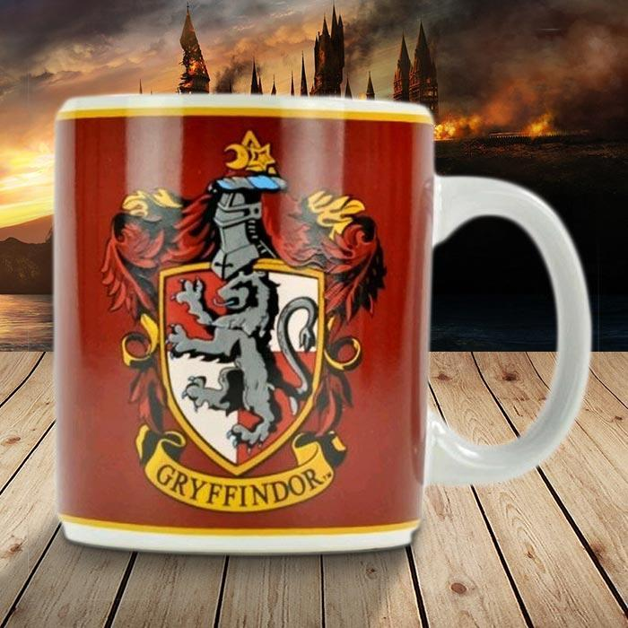 Harry Potter Gryffindor Mug - - Harry Potter - Yellow Octopus