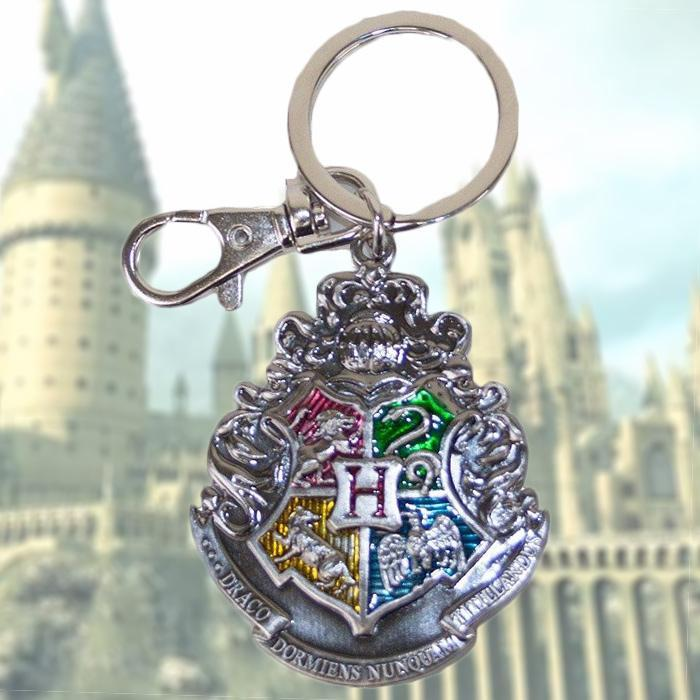 Harry Potter Harry Potter Hogwarts School Crest Pewter Keyring