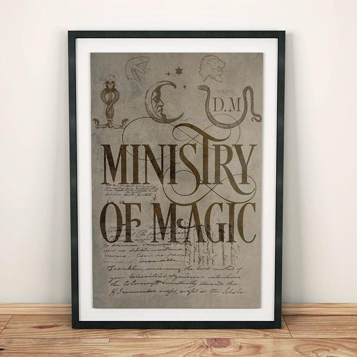 Harry Potter Harry Potter Ministry of Magic Poster 61 x 91.5 cm