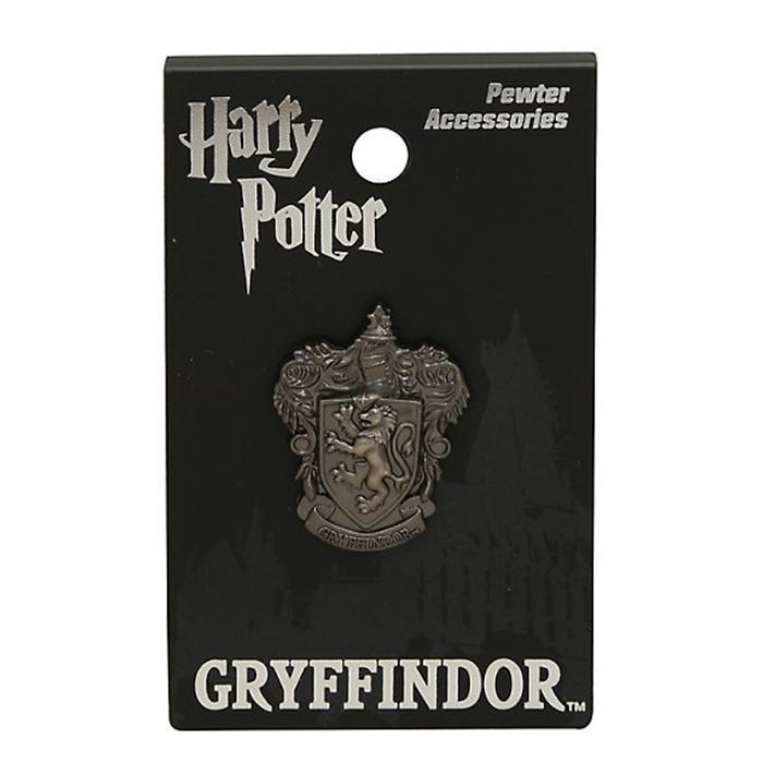 Harry Potter Pewter Gryffindor Pin - - Harry Potter - Yellow Octopus