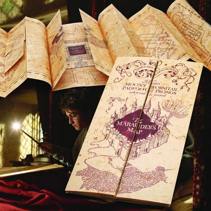 Official Harry Potter Marauder's Map - - Harry Potter - Yellow Octopus