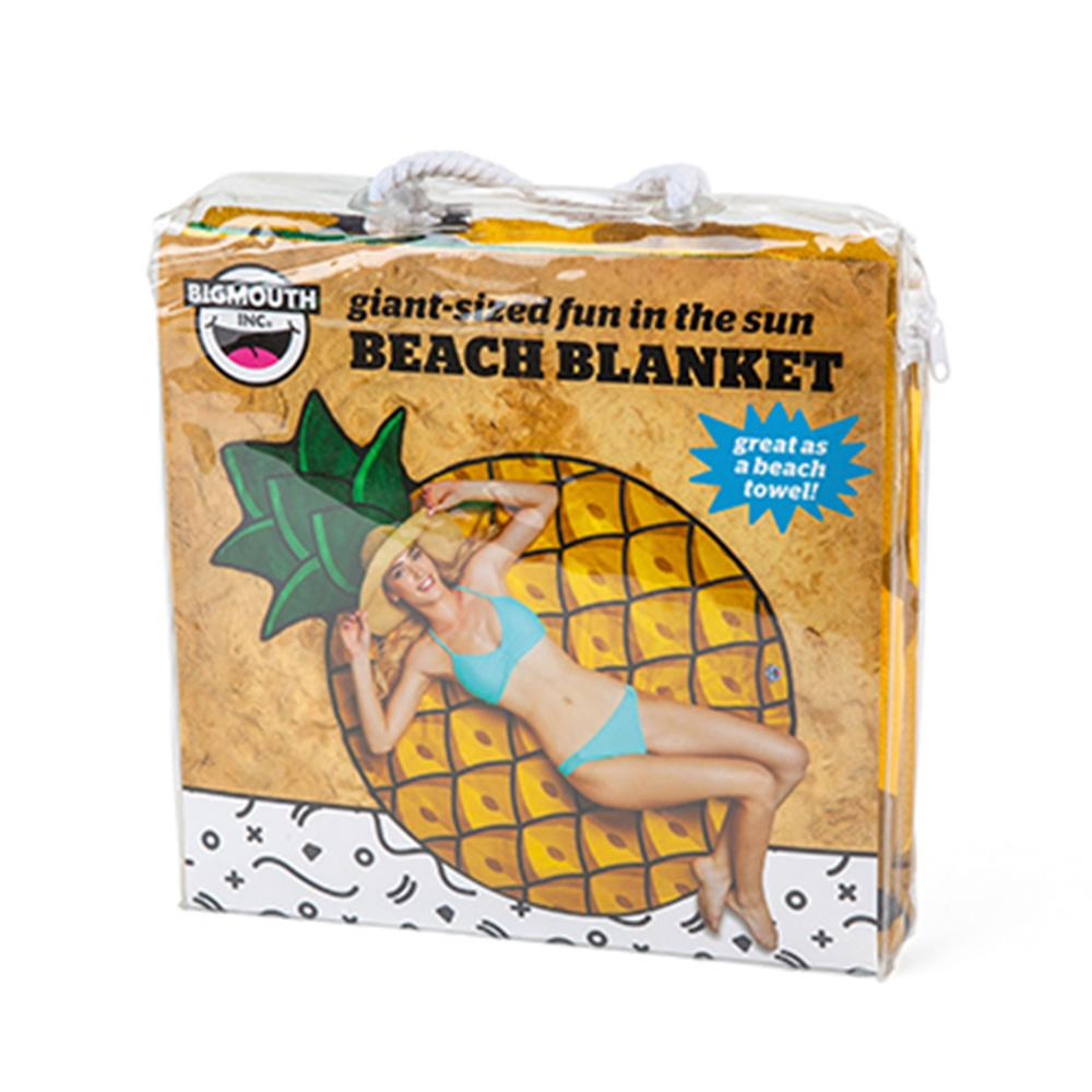 Gigantic Pineapple Beach Blanket Towel with Carry Pouch 152cm
