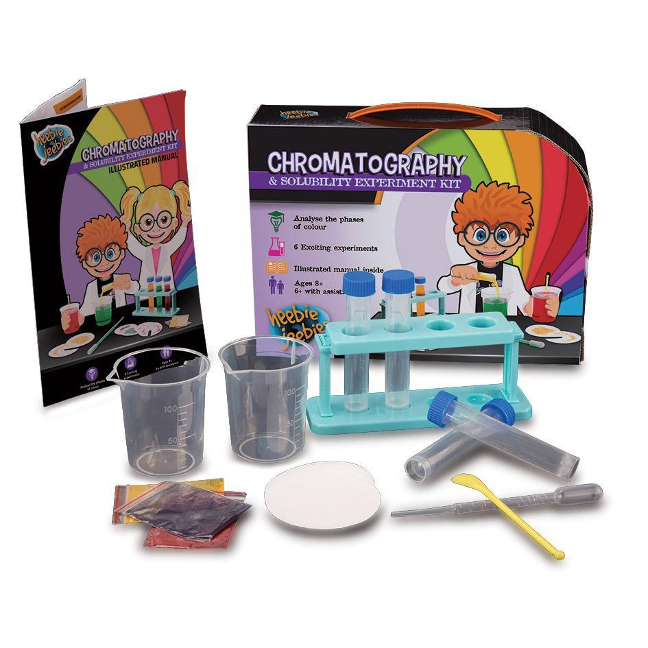 Heebie Jeebies Kids DIY Science Experiments Kits Chromatography