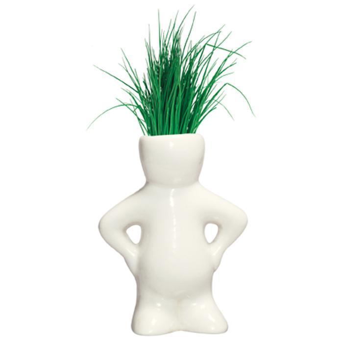 Heebie Jeebies Lil Dude Pint Sized Planters - Set Of 3