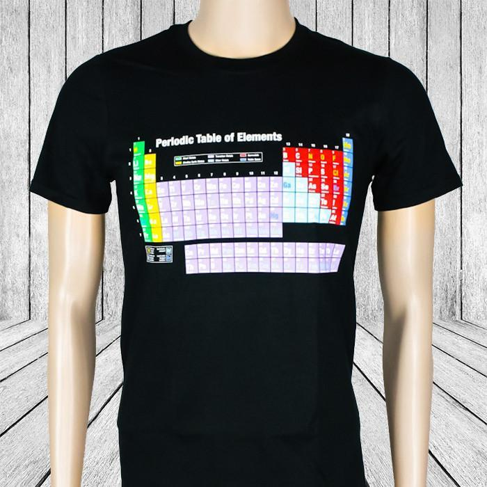 Heebie Jeebies Periodic Table of Elements T-Shirt