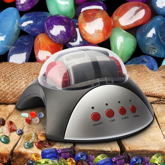 Rock Tumbler Kit: Turn Rocks & Minerals Into Gemstones! - - Heebie Jeebies - Yellow Octopus