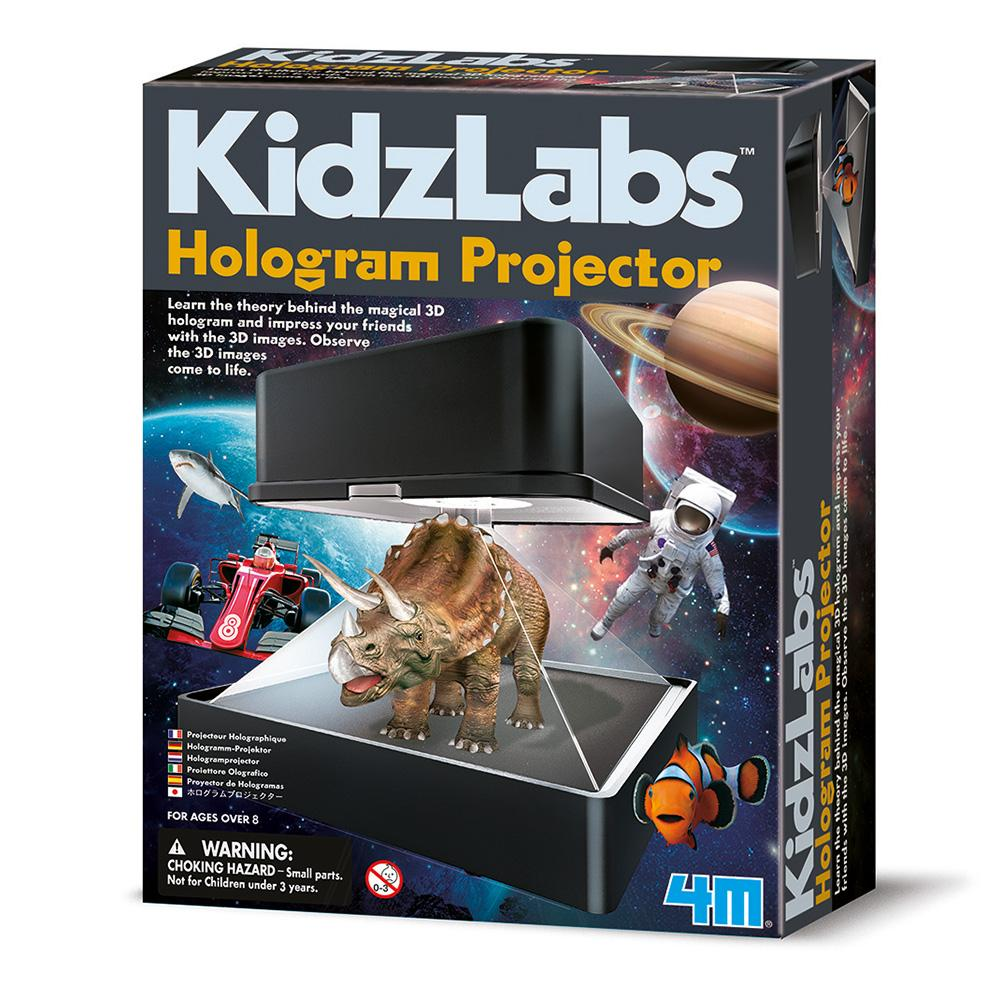3D Hologram Projector Kit - - 4M - Yellow Octopus