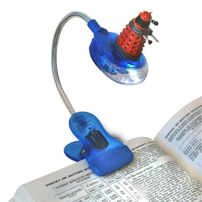 Doctor Who Dalek Clip On Book Light - - Ikon - Yellow Octopus